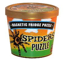 Magnetic Fridge Spiders Puzzle - 1