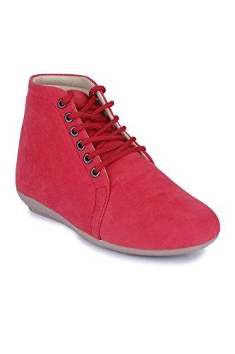 Naisha-Synthetic-Boots-PT-121-Pink