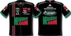 DALE EARNHARDT JR MT DEW PIT SHIRT BLACK by RacingGifts