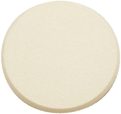 Prime Line Products Scu 9186 5-Inch Ivory Round Wall Bumper - Quantity 12 front-508515
