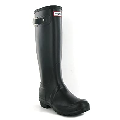 Excellent Hunter Original Womens Black Short Wellington Boots