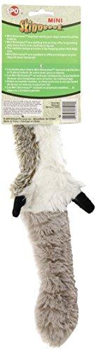 Ethical-Mini-Skinneeez-Raccoon-14-Inch-Stuffingless-Dog-Toy