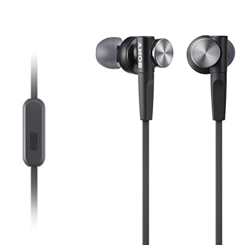 Sony mdrxb50ap extra Bass In-Ear Headset, Negro