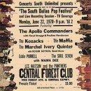 echange, troc Artistes Divers - South Dallas Pop Festival - Live 1970