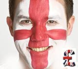 England Red & White Face Paint Set
