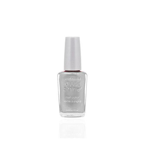 (3 Pack) WET N WILD Wild Shine Nail Color - Metallica