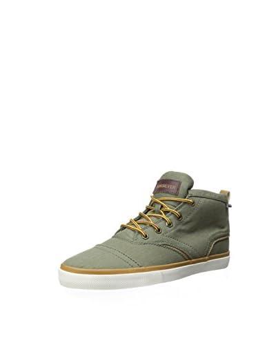 Quiksilver Men's Heyden Canvas Mid-Top Sneaker