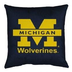Ncaa Michigan Wolverines Locker Room Pillow front-609721