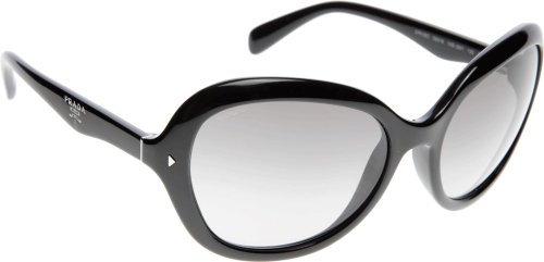 prada Prada PR09OS Sunglasses-1AB/3M1 Black (Gray Gradient Lens)-60mm
