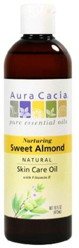 Aura Cacia Nurturing Sweet Almond Natural Skin