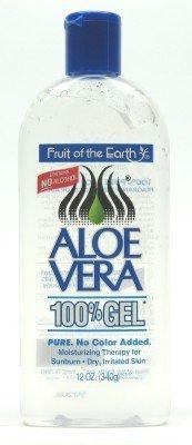 Fruit Of The Earth 100 % Aloe Vera Gel, 12 oz