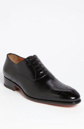 サントーニ Santoni 'Stafford' Cap Toe Oxford 男性 メンズ シューズ 靴 革靴 並行輸入