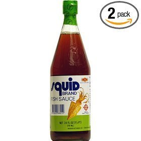 Squid brand fish sauce 24 ounce bottle pack of 2 food for Squid fish sauce