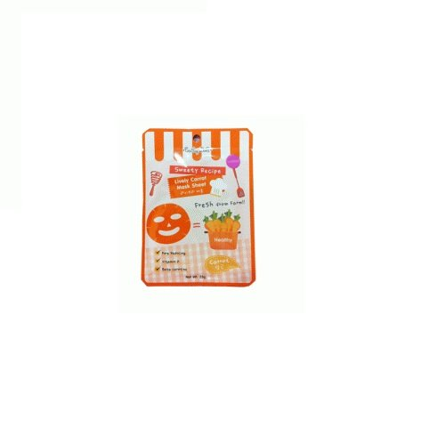 Cathy Doll Sweety Recipe Mask #Lively Carrot Mask 25G. X 3 Pack
