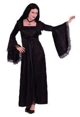 Teen Girls and Girls Gothic Angel of Darkness Costume
