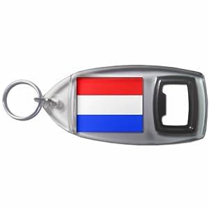 Holland Flag - Botella plástica del anillo dominante del abrelatas