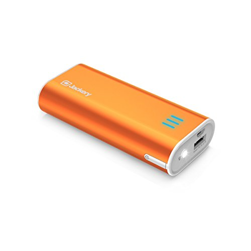 Jackery Bar Premium 6000 mAh External Battery Charger - Portable Charger and Power Bank with Panasonic Battery Cells and Aluminum Shell for iPhone 7, 7 Plus, Galaxy & Other Smart Devices (Orange) (Backup Battery Cell Phone compare prices)