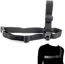 NEOpine Stylish Chest Strap Belt Shoulder Harness Mount for GoPro HERO 3 3 2 Green