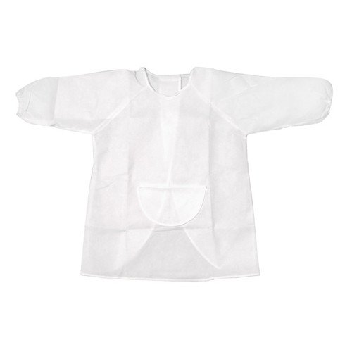 WeGlow International Kid's Art Smock Kit, White