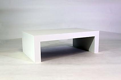 Mesa de centro blanco mate mod First H30