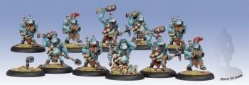 Pyg Burrowers Unit (Full, Repackage) Trollbloods Box PIP71081 Hordes