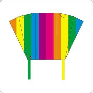 HQ Kites Pocket Sled Single Line Kite - Rainbow