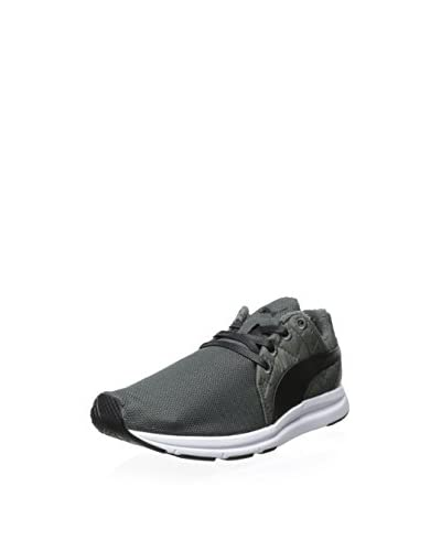 PUMA Men's Haast Lace Quilted Ripstop Sneaker