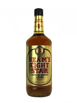 Beam's Eight Star Kentucky Whiskey