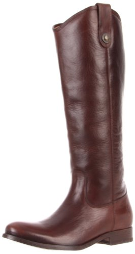 Frye Women's Melissa Button Boot Dark Brown Riding Boot 77167 9 UK