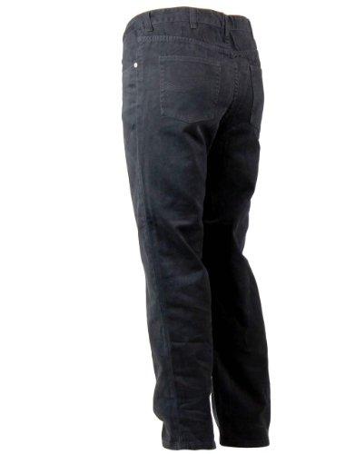 Schwarze Baumwoll Jeans ab W38 Herren schwarz W40/L34