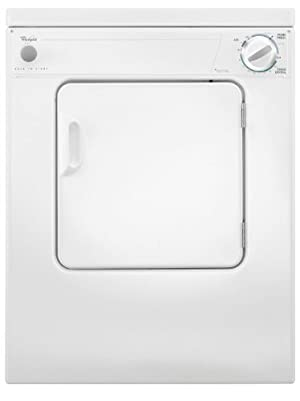Whirlpool LDR3822PQ White 120V Electric Dryer