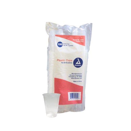 Plastic Drinking Cups - 5 oz. - 100/Box