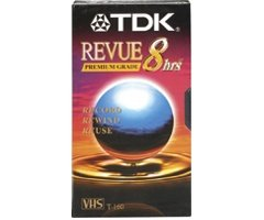 TDK Systems T-160 Revue Premium Quality 8 Hour Video Tape  T-160RVAXBH-SB000162ZQ0 : image