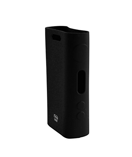 Official iStick 100w Silicone Protective Gel Skin Case Cover Fits 100 Watt Mod (Onyx Black)