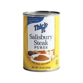 Salisbury Steak Thick-It Puree, 15Oz