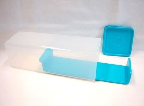 Tupperware Cheese/Butter Keeper, Aqua lid (Cheese Tupperware compare prices)
