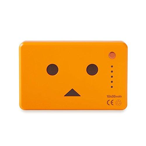 cheero Power Plus 10400mAh DANBOARD Version - FLAVORS - (pumpkin) 大容量 モバイルバッテリー [ 高品質Sanyo/Panasonic電池搭載 ]  iPhone 6 6Plus 5s 5c 5 / iPad / Android / Xperia / Galaxy / 各種スマホ / タブレット / ゲーム機 / Wi-Fiルータ 等 急速充電 対応