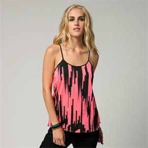 Fox Racing Women's Underground Cami - Medium/Day Glo Pink