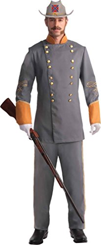 Civil War Confederate Officer Plus Size Costume