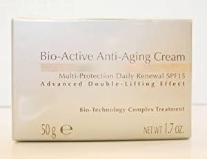 Bio-Active Anti-Aging Cream Multi-Protection Daily Renewal SPF15 Advanced Double-Lifting Effect