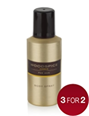 Woodspice Amber Body Spray 150ml