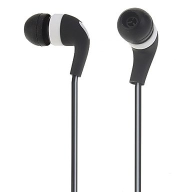 Headphone - Ev-2705Sl 3.5Mm High Quality In-Ear Music Earphone For Iphone 4/4S ( Color : Black )
