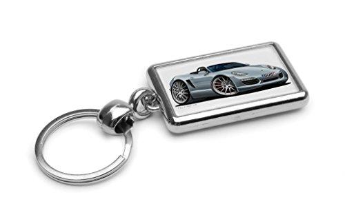 wickedartz-cartoon-car-porsche-boxster-silver-premium-metal-key-ring