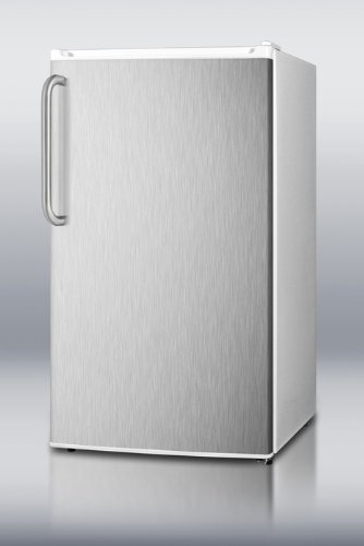 Refrigerator Freezer with Crisper Cover Glass Type