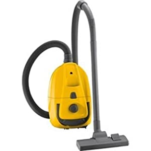 Argos Value Range Yellow Compact 1400w Cylinder Vacuum