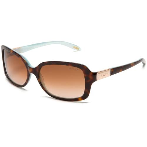 Ralph by Ralph Lauren Sunglasses RA 5130 601 13 Acetate plastic Havana Turquoise Gradient Brown