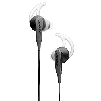 Bose Sound Sport in-ear headphones deliver deep, clear sound for the music you love, with a durable design that stands up to the rigors of your day. Exclusive TriPort technology provides crisp highs and natural-sounding lows, while acoustic ports are...