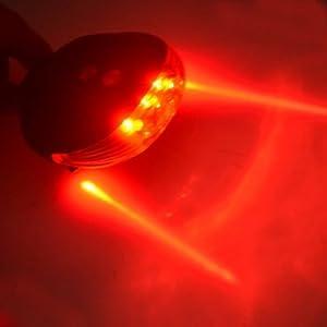 LED Bike Bicycle Cycling Rear Tail Safety Flashing Waterproof Light Lamp