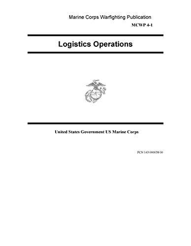 Marine Corps Warfighting Publication MCWP 4-1 Logistics Operations 15 April 1999