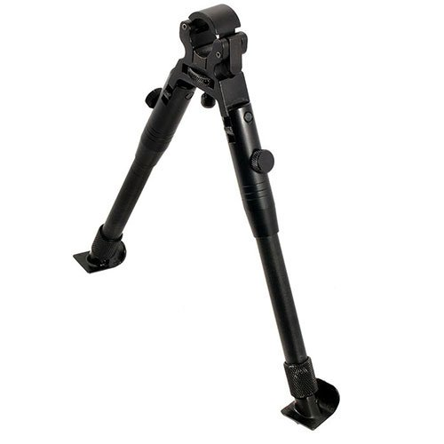 Metal bipod, telescopic, adjustable height (9